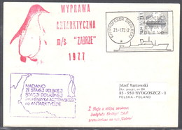 "ANTARCTIC, POLEN, Expedition 1977 R/V ""PROF. SIEDLECKI"" +""ZABRZE"" Look Scan !! 21.3-31 - Expéditions Antarctiques"