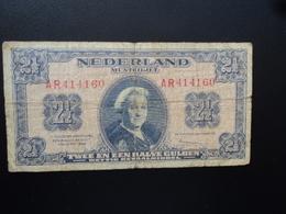 PAYS BAS : 2 ½ GULDEN  18-5-1945   P 71 *    B+ - [2] 1815-… : Royaume Des Pays-Bas