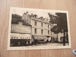 CPA 48 Lozère Villefort Grand Hôtel Palme  TBE - Villefort