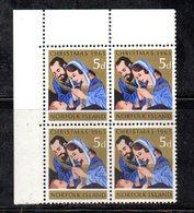 QUS - NORFOLK 1965, La Serie Natale N. 61  In Fresca Quartina *** (2380A) - Isola Norfolk
