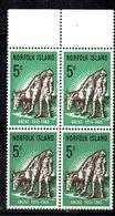 QUS - NORFOLK 1965, La Serie ANZAC N. 60  In Fresca Quartina *** (2380A) - Isola Norfolk