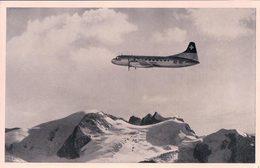 Avion Swissair, Convair Liner Sur Les Alpes (304) - 1946-....: Ere Moderne