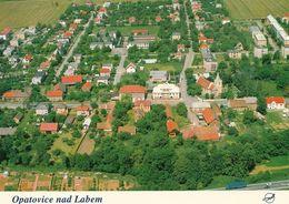 1 AK Tschechien * Blick Auf Opatovice Nad Labem (deutsch Opatowitz) - Luftbildaufnahme * - Tchéquie