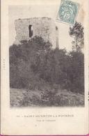 -    30 --SAINT QUENTIN LA POTERIE -- LA TOUR DE CONTARUDE --1905 - Francia