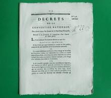 D-FR Révolution 1793 Formation Et Composition D'un Comité De Salut Public - Historische Dokumente