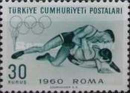 MH STAMPS Turkey - Olympic Games  -1960 - 1921-... Republic