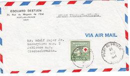 HAITI COVER AIR MAIL 1947 - Haïti
