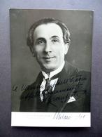 Autografo Apollo Granforte Fotografia Milano 1940 Baritono Lirica Musica - Autografi