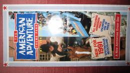 ROYAUME UNI. AMERICAN AVENTURE 1991. Scans - Dépliants Touristiques