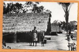 Bosnegerdop Bij Brokopondo Suriname Old Real Photo Postcard - Surinam