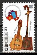 Cuba 2010 / Music Musical Instruments Mongolia MNH Musik Musica Instrumentos Musicales / Cu11638  C1 - Música