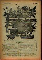 : « Touring  Club De Belgique» Bulletins Du 11/1900 Et Du 12/1900 Avec Listes Des Cartes Postales émises Par Le TCB - Livres