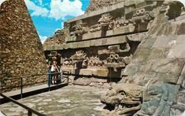 CPSM Mexico-Temple De Quetzalcoatl                                                L2802 - Mexique