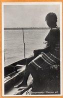 Suriname Types Old Real Photo Postcard - Surinam