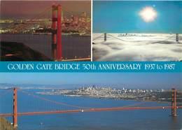 CPSM Golden Gate Bridge                                               L2802 - Etats-Unis