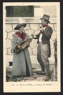 Bibi La Purée Et La Môme La Mouise Musiciens Vielle - Petits Métiers à Paris