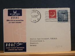 83/836 LETTRE   PAKISTAN  1° FLIGHT  1957 - Pakistan