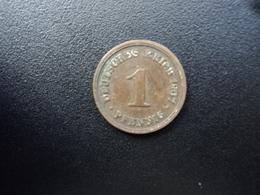 ALLEMAGNE : 1 PFENNIG    1907 F    KM 10      TTB - [ 2] 1871-1918: Deutsches Kaiserreich
