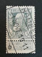COB N ° 78 Oblitération Ferroviaire Hombeek 1911 - 1905 Grosse Barbe