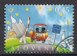 Slowenien (2007)  Mi.Nr.  662  Gest. / Used  (3ai44) - Slovénie