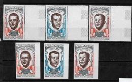 #C63A# MAURITANIA MICHEL 401/403A+B MNH**. IMPERFORATED ONLY 800 ISSUED. SPACE, GAGARIN. - Mauritanie (1960-...)