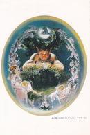 Art - Forest Spirit And Fairies By Daniel Maclise, C.1834, Japan's Postcard - Malerei & Gemälde