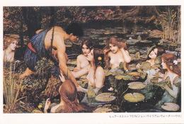 Art - Hylas And The Nymphs By John William Waterhouse, IMURA Kimie's Fairyland, Japan - Märchen, Sagen & Legenden