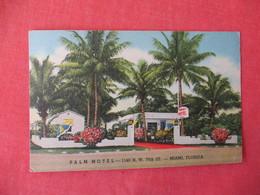 Palm Hotel   - Florida > Miami>   Ref 3232 - Miami