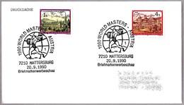 CAMPEONATO DEL MUNDO HALTEROFILIA - Weightlifting World Championships. Mattersburg 1990 - Halterofilia