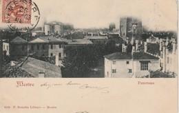 MESTRE D'EPOCA ANNO 1903 VEDUTA PANORAMICA DEL CENTRO FORMATO PICCOLO VIAGGIATA - Venezia (Venice)