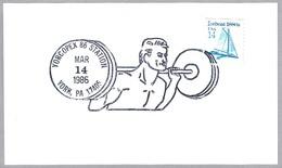 HALTEROFILIA - Weighlifting. York PA 1986 - Halterofilia