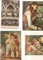 Lot De 27 Cartes Tableaux Differentes - Schilderijen