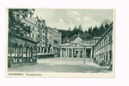 Kreuzbrunnen.Expédié De Marianske Lazne à Vienne.Pli De Coin. - Tchéquie