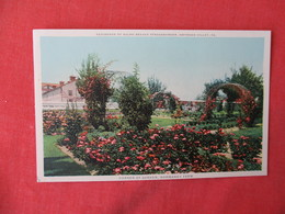 Ralph Beaver Strassburger Residence-- Corner Of Garden  Normandy Farm --Gwynedd Valley  Pennsylvania >    Ref 3232 - United States