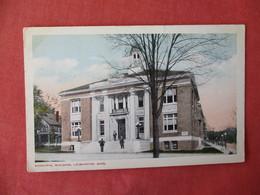 Municipal Building  Leominster      Massachusetts     Ref 3232 - United States