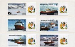 BRITISH ANTARCTIC TERRITORY / Superbe Série 6 Valeurs Dentelées MNH - Barcos Polares Y Rompehielos