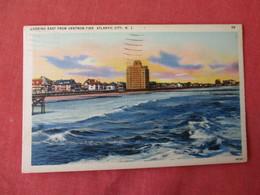 East From Ventnor Pier   Atlantic City  New Jersey >     Ref 3232 - Atlantic City