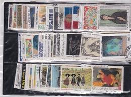 125 Tableaux De FRANCE Oblitérés De 1961 à 2010 Tous Différents - Collections