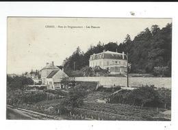 95 Chars CPA Rue De Brignancourt Les Pinsons  écrite 1929 TBE - Chars