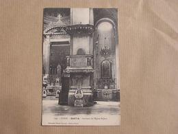 BASTIA Intérieur De L'Eglise Saint-Jean Corse Carte Postale Postcard - Bastia