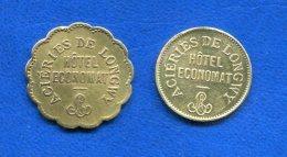 Longwy  2  Jetons - Monetary / Of Necessity