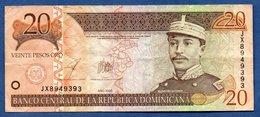 Rep Dominicaine -  20 Pesos Oro  -  2003  -  Pick # 169 -  état  TTB - Dominicaine