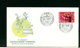BELGIO - EUROPEAN BREWERY CONVENTION 1963 - EBC - BIRRA BIRRAI MALTO FERMENTAZIONE - Birre