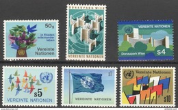 Nations Un Ies Vienne YV 1/6 MNH Série Courante - Wien - Internationales Zentrum