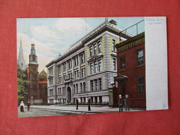 High School Troy NY --- Tuck Series       New York   Ref 3232 - NY - New York
