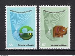 Nations Un Ies Vienne YV ? MNH Poisson Rhinocéros - Wien - Internationales Zentrum