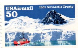 USA 1992 / ANTARCTIQUE Superbe Timbre Dentelé MNH - Navires & Brise-glace