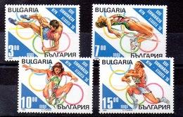 Serie De Bulgaria N ºYvert 3609/12 ** DEPORTES (SPORTS) - Ungebraucht