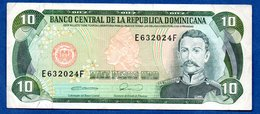 Rep Dominicaine  -  10 Pesos Oro  -  TB+ - Dominicaine