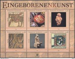 Nations Unies Vienne YV 423/8 MNH 2004 Art Autochtone - Wien - Internationales Zentrum